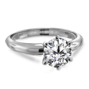 Classic Solitaire Engagements Rings