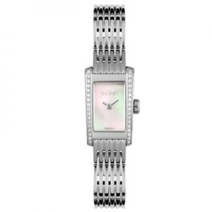 Authentic GUCCI – Women's Mother of Pearl Diamond Dial