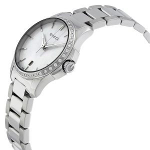 Authentic Gucci – G-Timeless Steel Silver Women's Watch