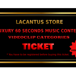 LUXURY 60 SECONDS MUSIC CONTEST – VIDEOCLIP CATEGORY – 3 VIDEOCLIPS
