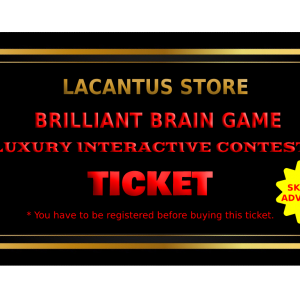 | BRILLIANT BRAIN GAME | SKILLS ADVANCED | TICKET |