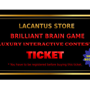 | BRILLIANT BRAIN GAME | SKILLS BEGINNER | TICKET |